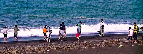 サマースクール オホーツク海